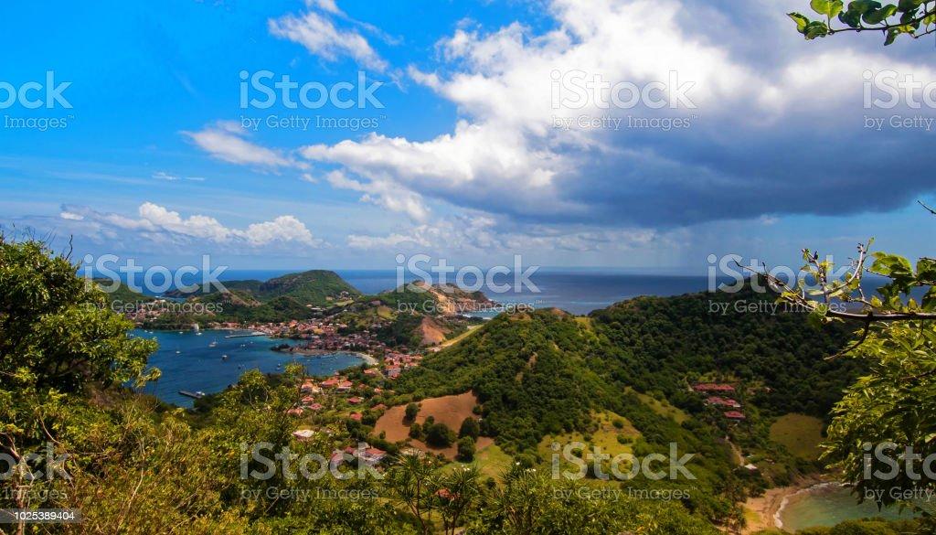 Les Saintes île, vue depuis le Chameau - Photo