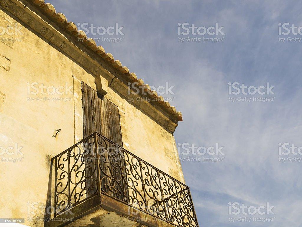 Les-Baux-de-Provence stock photo