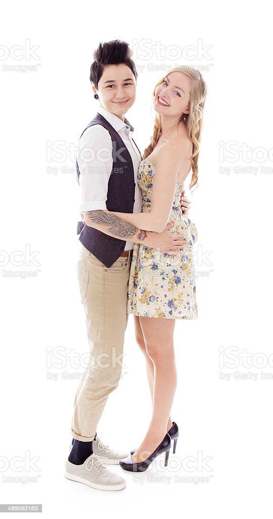 Lesbische paar Romantik - Lizenzfrei 20-24 Jahre Stock-Foto