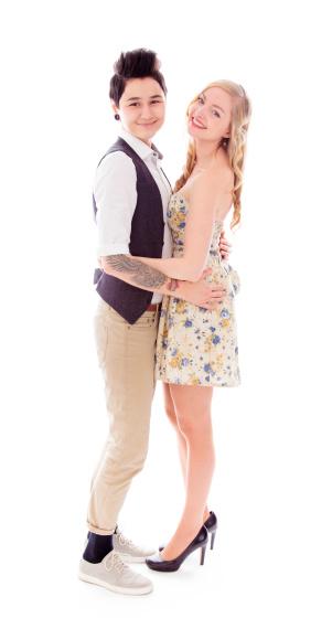 Lesbische Paar Romantik Stockfoto und mehr Bilder von 20-24 Jahre