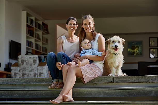 Lesbian couple with baby boy and dog on patio picture id603217425?b=1&k=6&m=603217425&s=612x612&w=0&h=e0iuhuxictmytym0 licemojplrliaedzhf3vosvork=