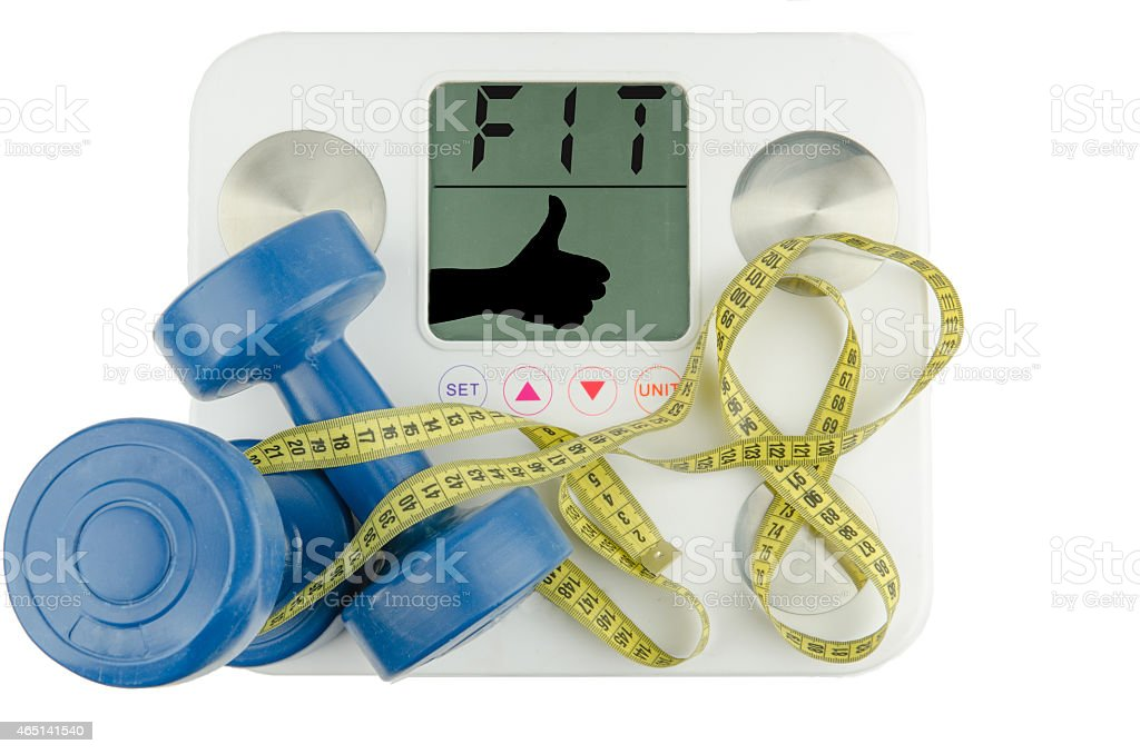 Less weight stock photo