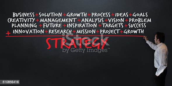 istock Lesson: Strategy Formula 510856416