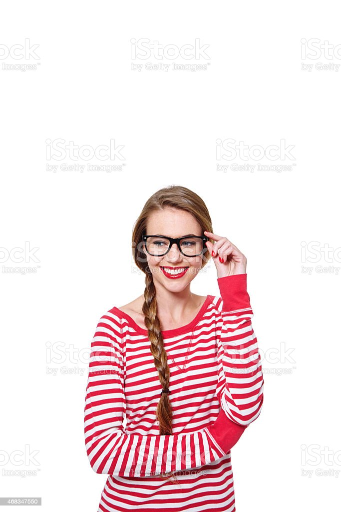 Let her brighten up your copyspace royalty-free stock photo
