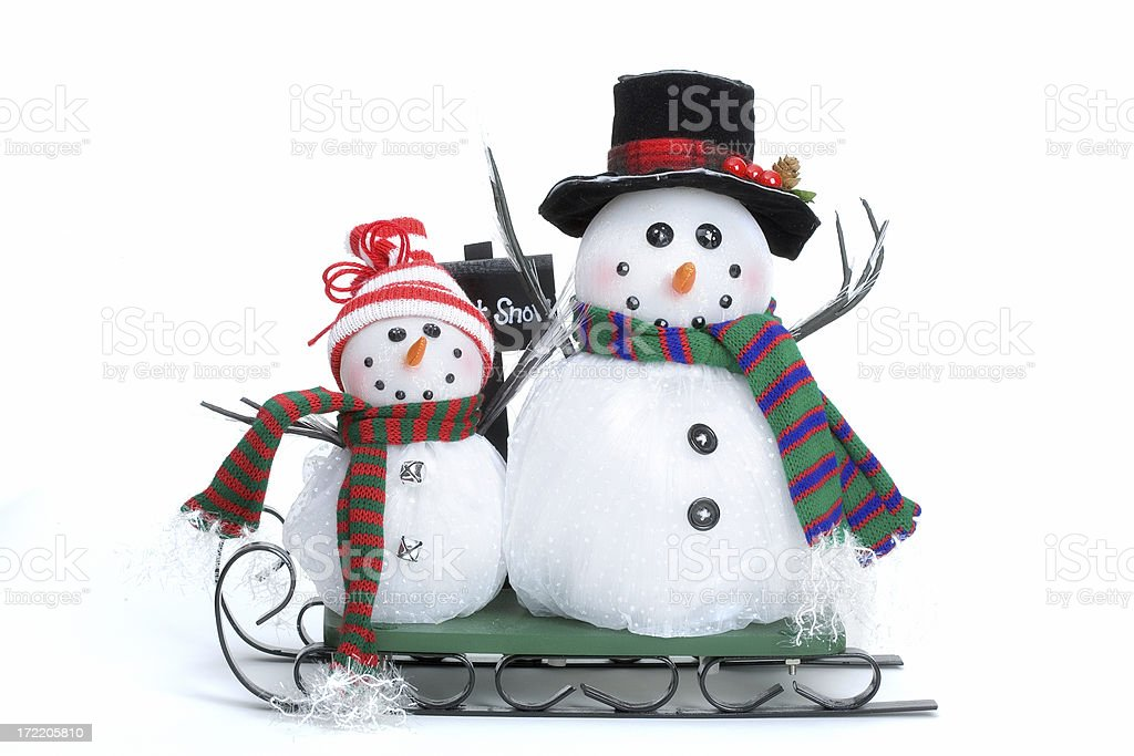 Let it Snow royalty-free stock photo