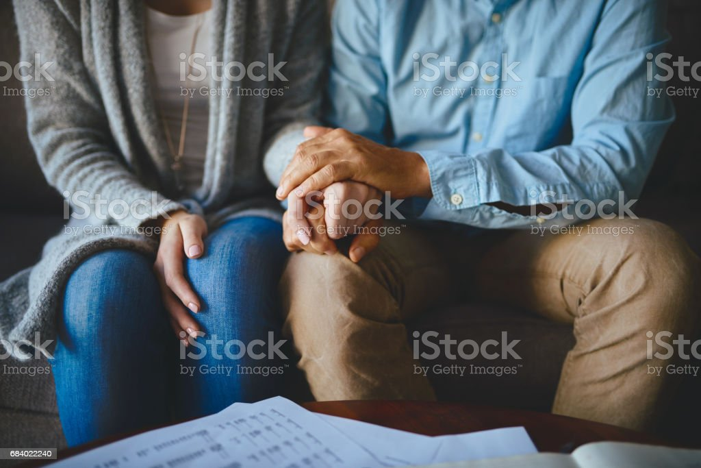Let love be your greatest source of support - foto stock