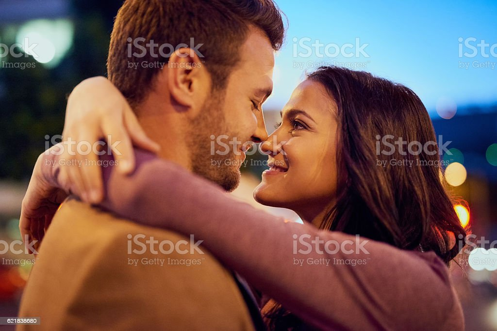 Let love take over stock photo
