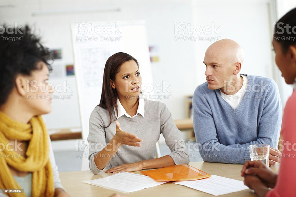 Let me be clear... royalty-free stock photo
