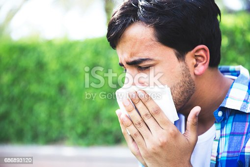 629307146istockphoto Let me clear my nose and then let us leave this park 686893120