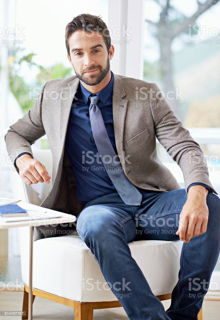 Let me give you my business proposal stock photo