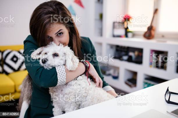 Let me hold you tight woman and her dog in her office picture id654140954?b=1&k=6&m=654140954&s=612x612&h=wn7orwyg8quosqnyjbrs4r5bjq4 8tau qetpy7utx4=