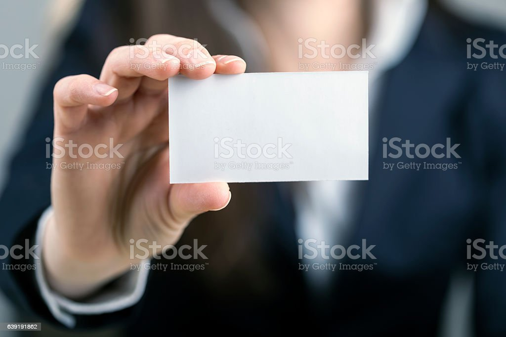 Let me introduce myself stock photo