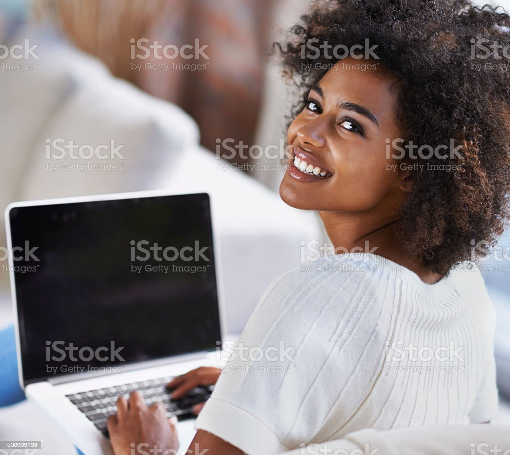 Let me show you this site stock photo