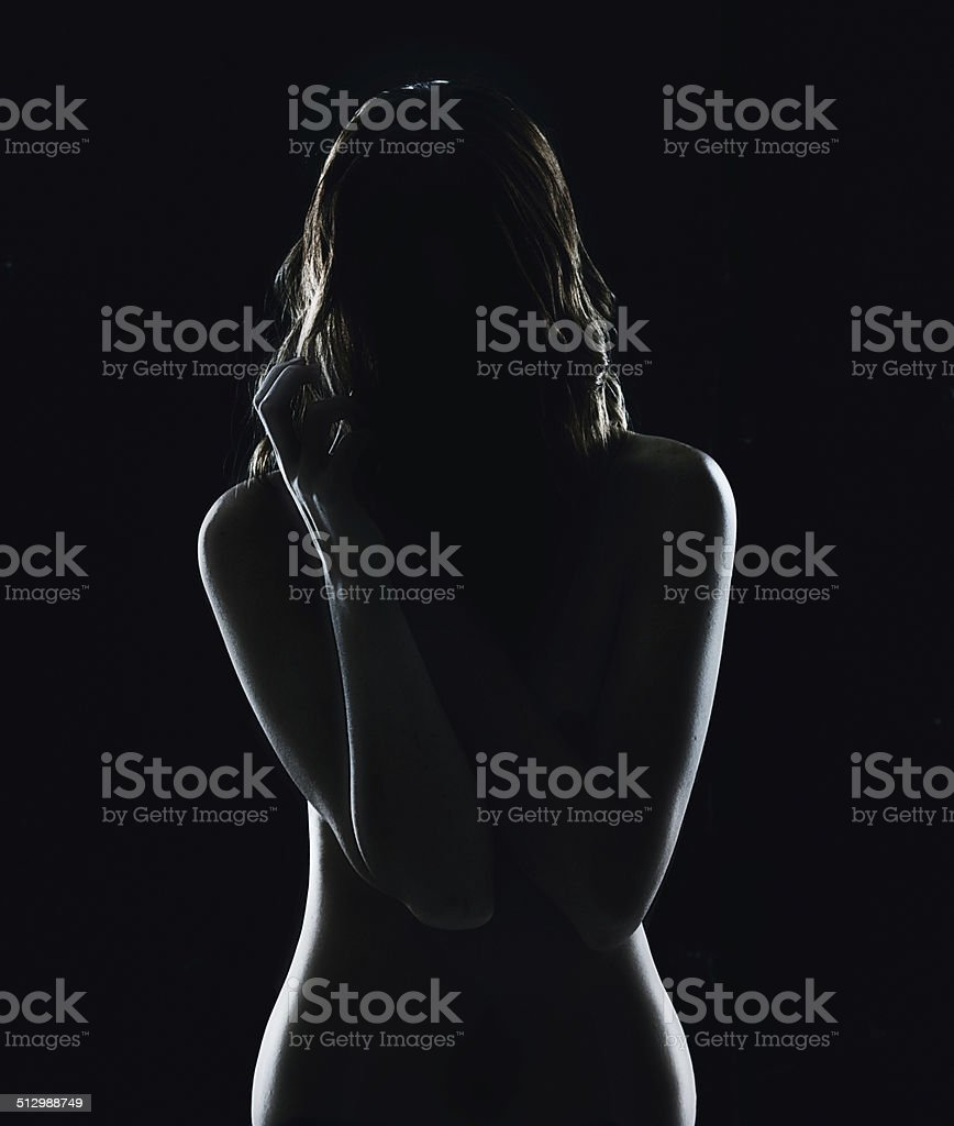 Let me show you what hides in the dark stock photo