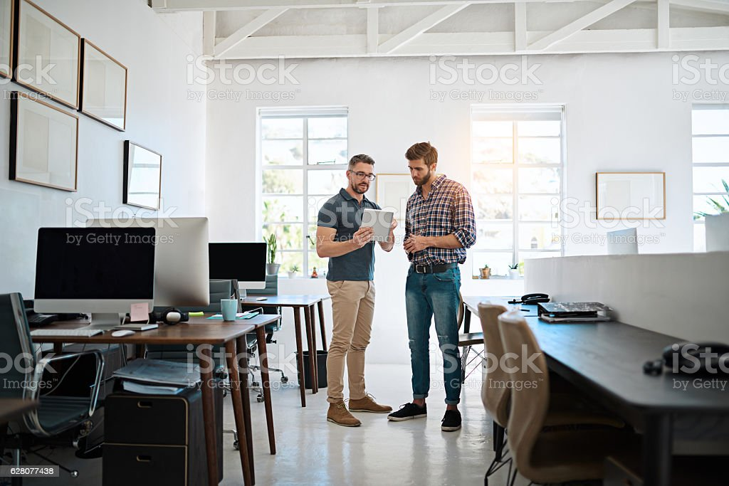 Let me show you what I'm thinking stock photo