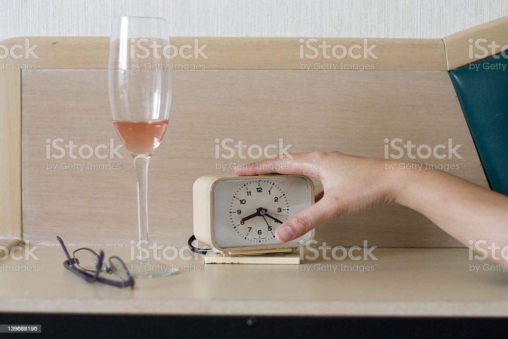 Let Me sleep royalty-free stock photo