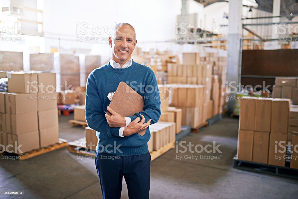 Let me take the guesswork out of logistics royalty-free stock photo