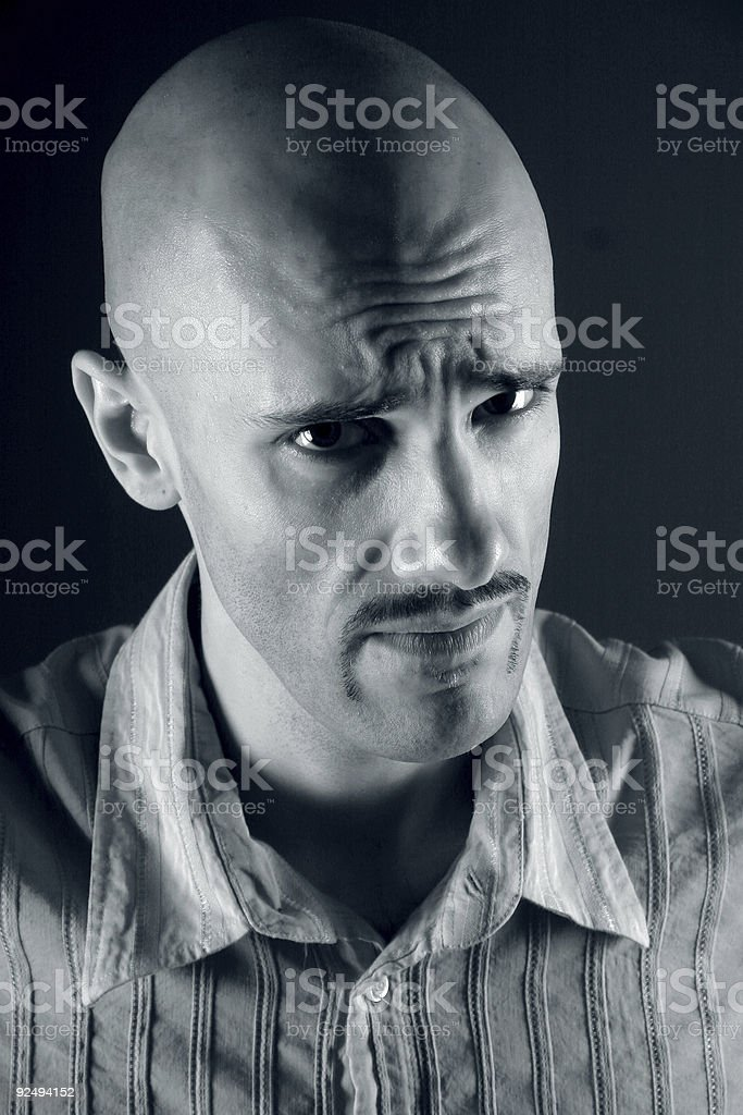 Let me think about it royalty-free stock photo