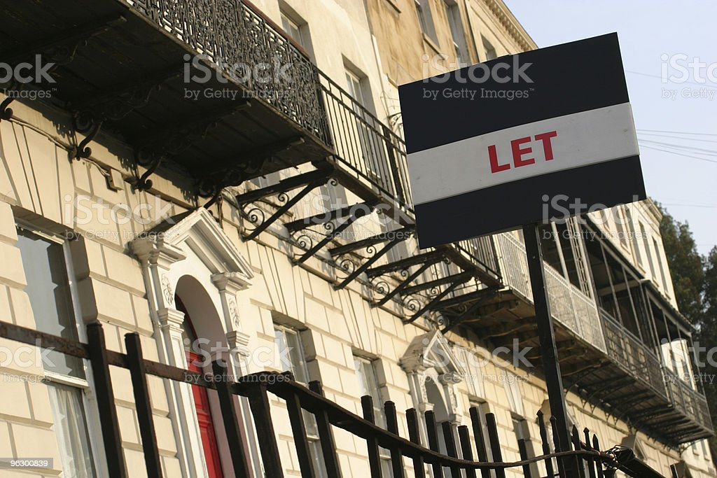 Let Sign royalty-free stock photo