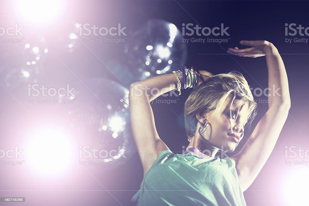 Let the music take you away stock photo
