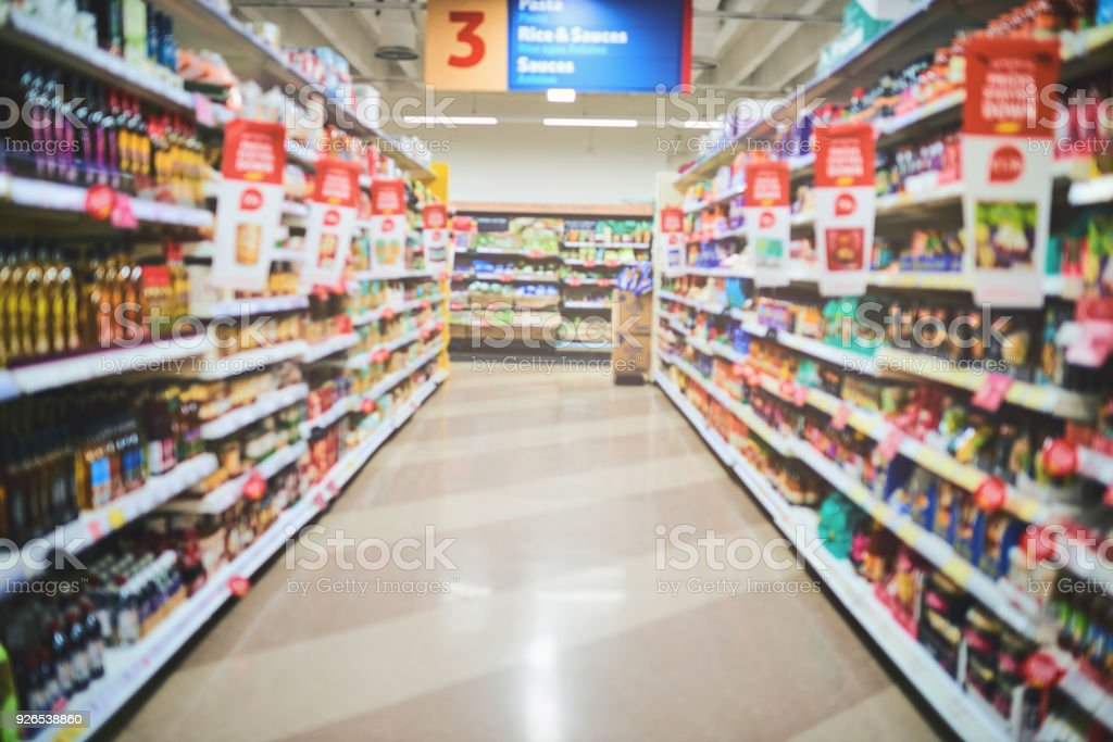 Let the shopping begin stock photo