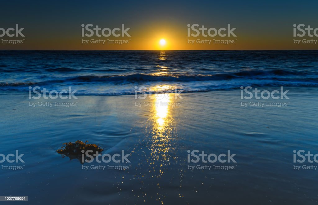 Let there be light - Sunrise Seascape stock photo
