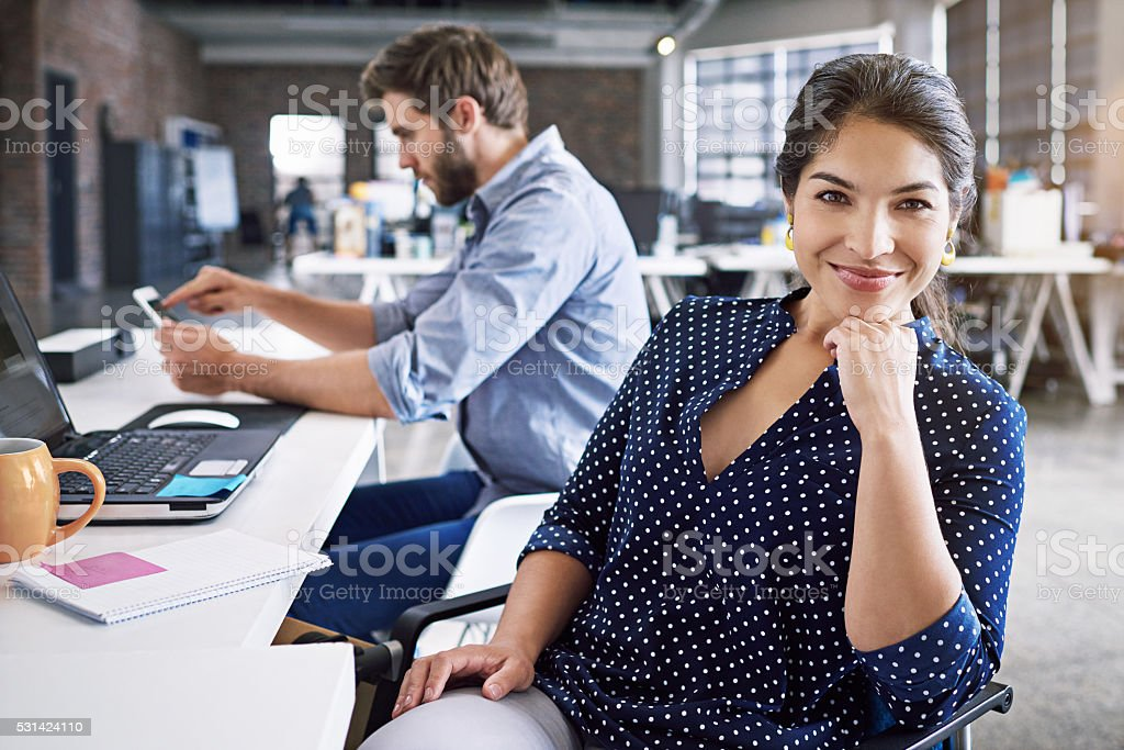 Let us assist you stock photo