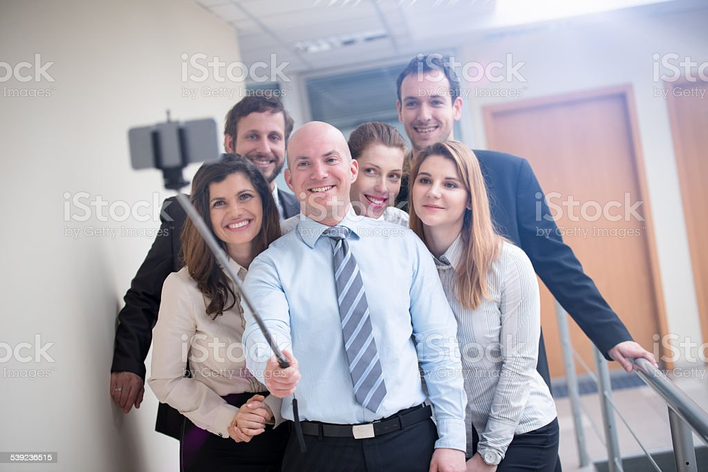 Let Us First Take a Selfie! royalty-free stock photo