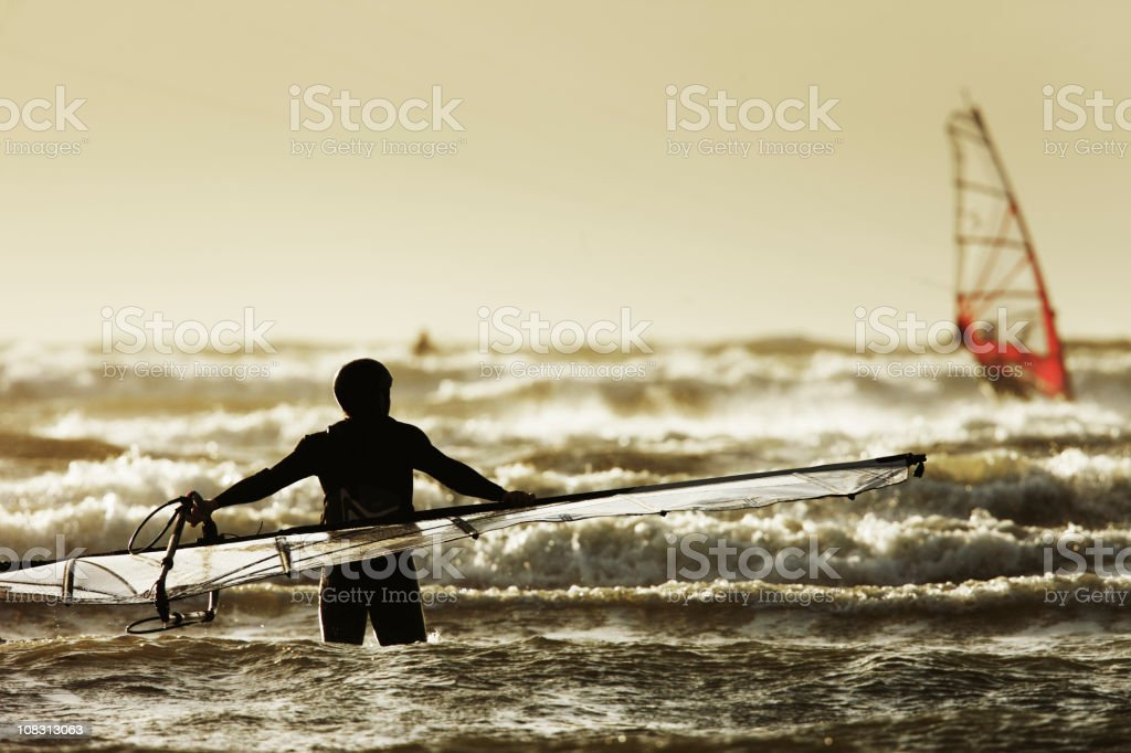 Let us surf royalty-free stock photo