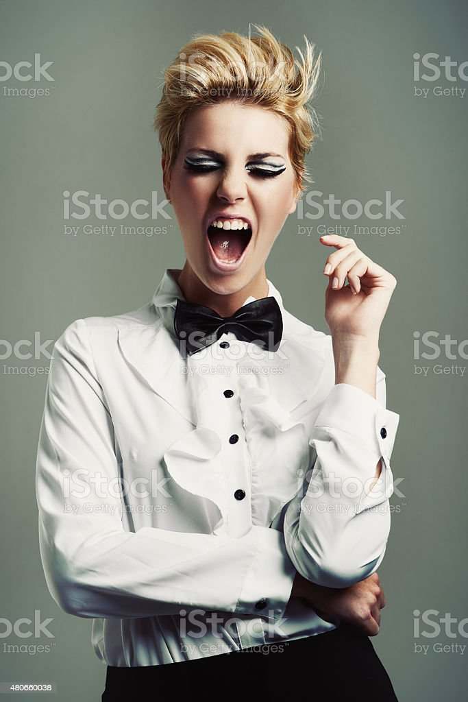 Let your style make a statement stock photo