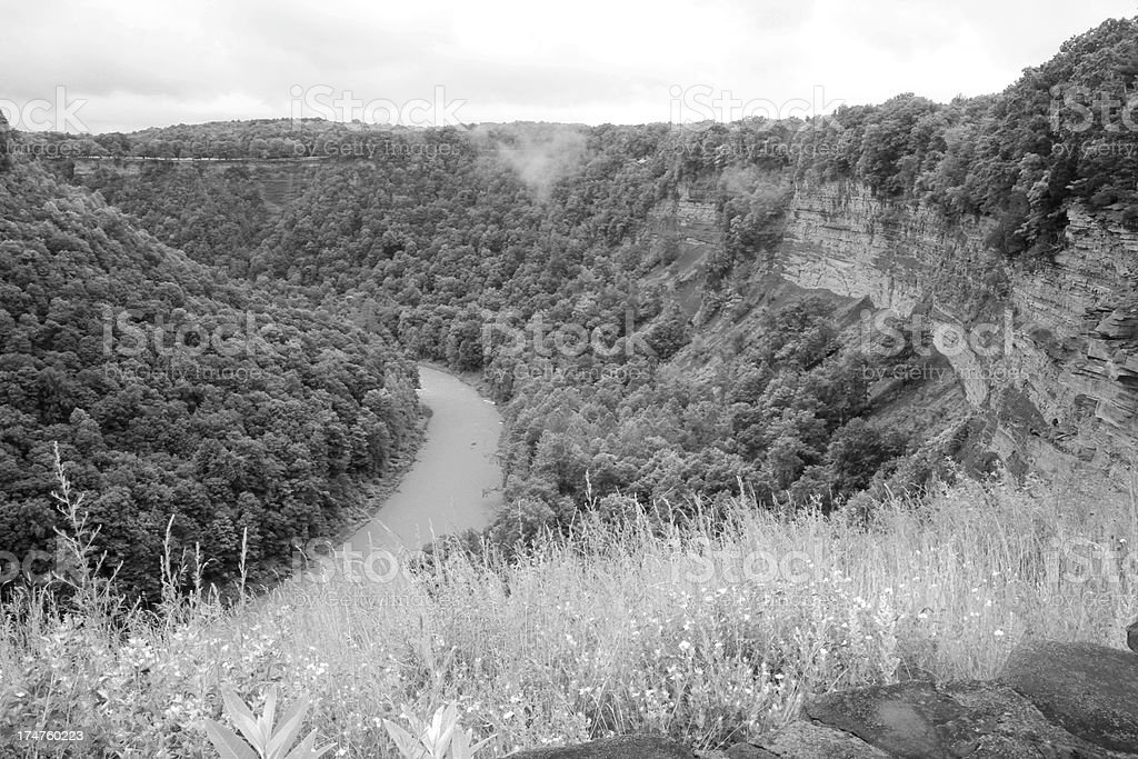 Letchworth state park royalty-free stock photo