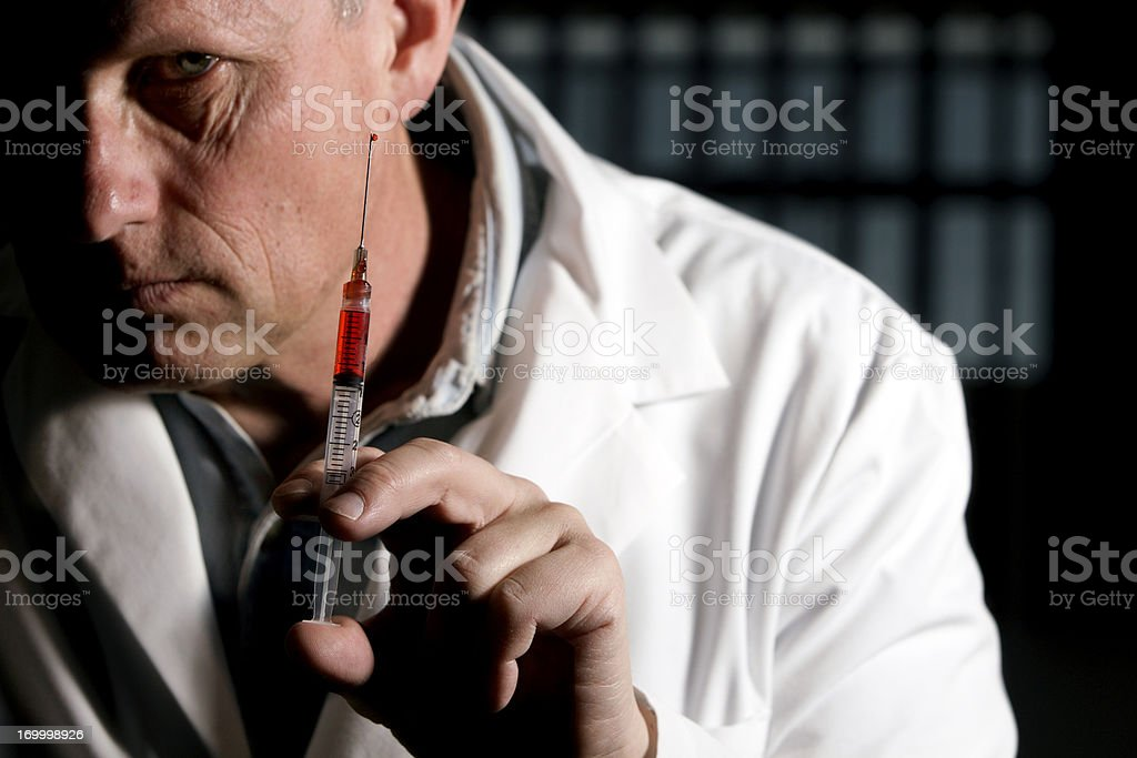 Lethal Injection stock photo