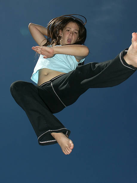 Best Female Karate Feet Stock Photos, Pictures & Royalty