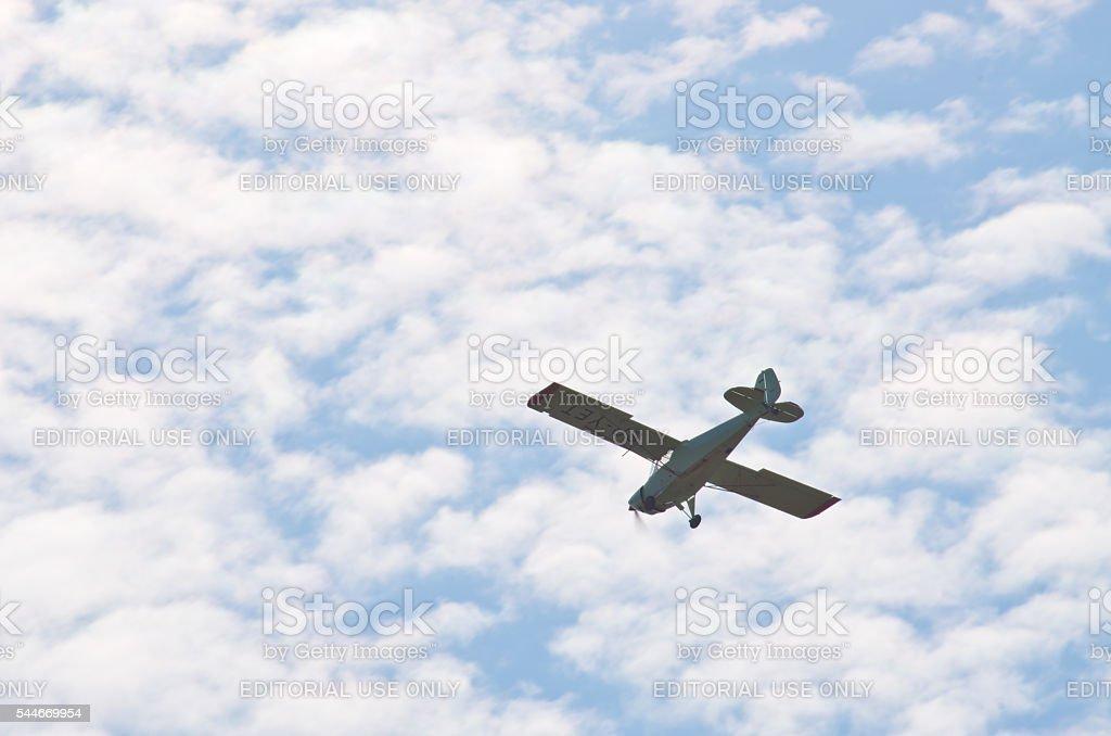 Let-Mont TUL-09 Tulak on Radom Airshow, Poland stock photo