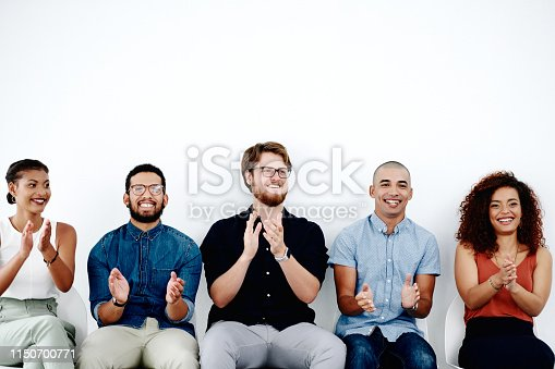 istock Let's applaud our valiant efforts 1150700771