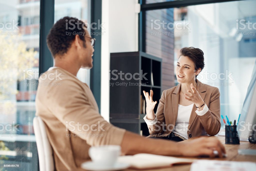 Let's be more strategic about our plans... stock photo