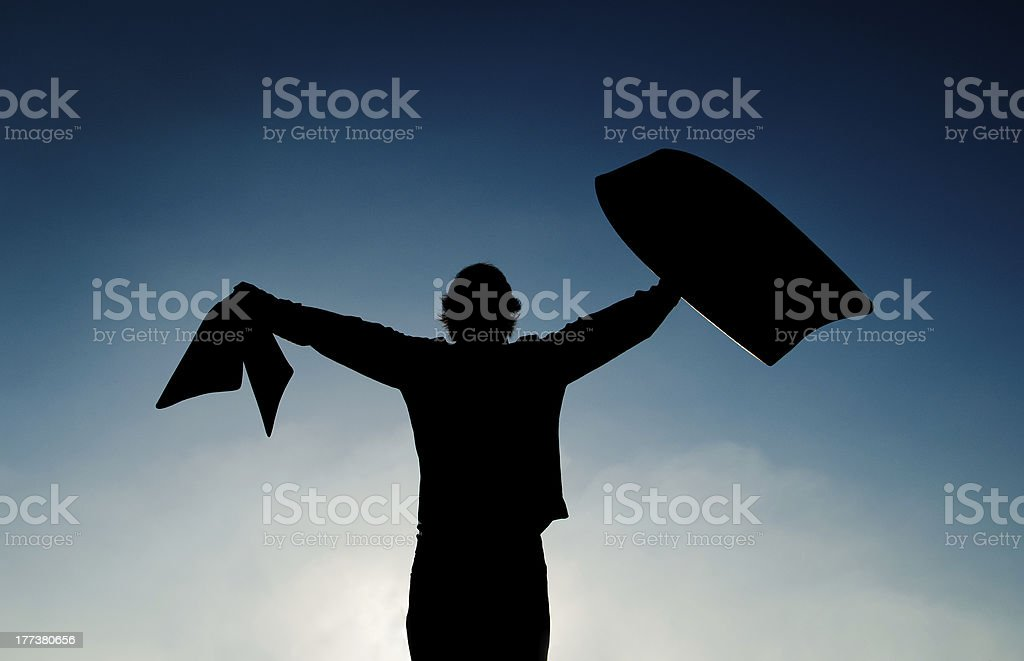 Let's bodyboard stock photo