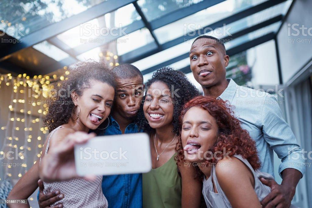 Wir bringen es für ein selfie – Foto