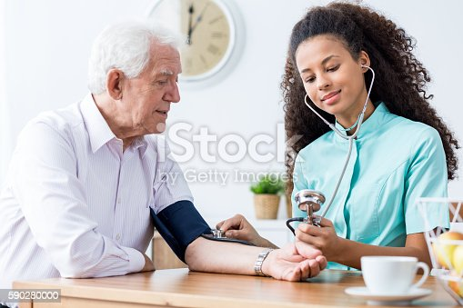 istock Let's check your blood pressure 590280000