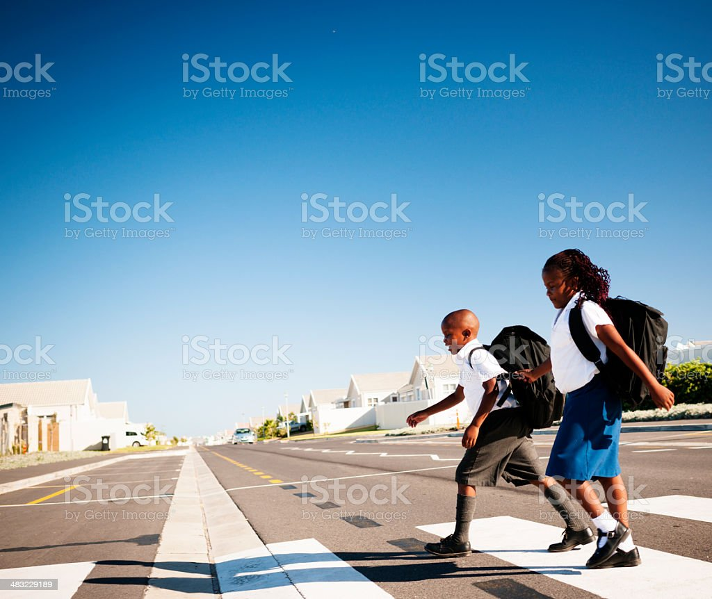 Let's Cross Over stock photo