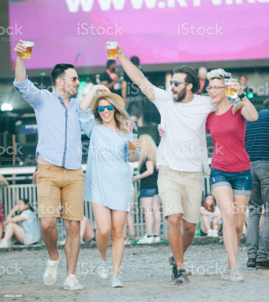 Let's dance all night stock photo