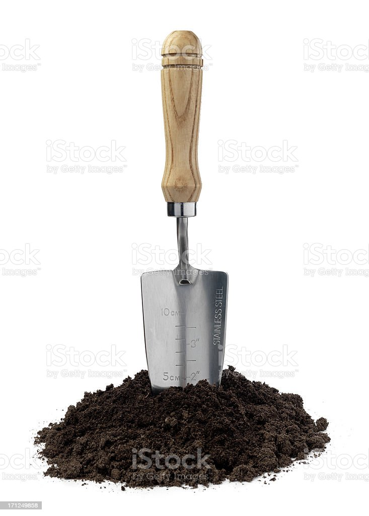 lets dig royalty-free stock photo