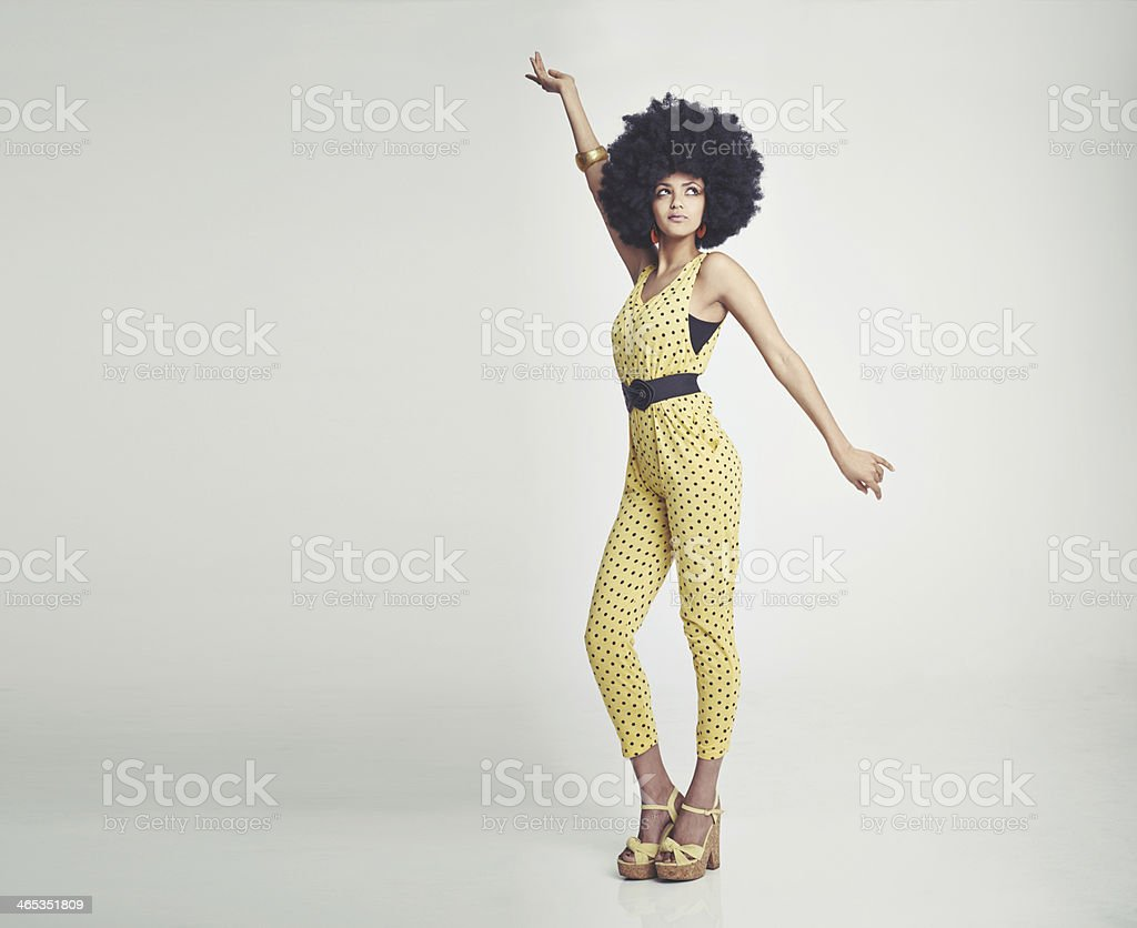 Let's disco! stock photo
