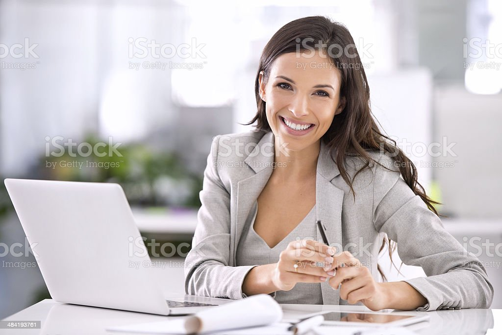Let's discuss your options..I'm sure I can help you! stock photo