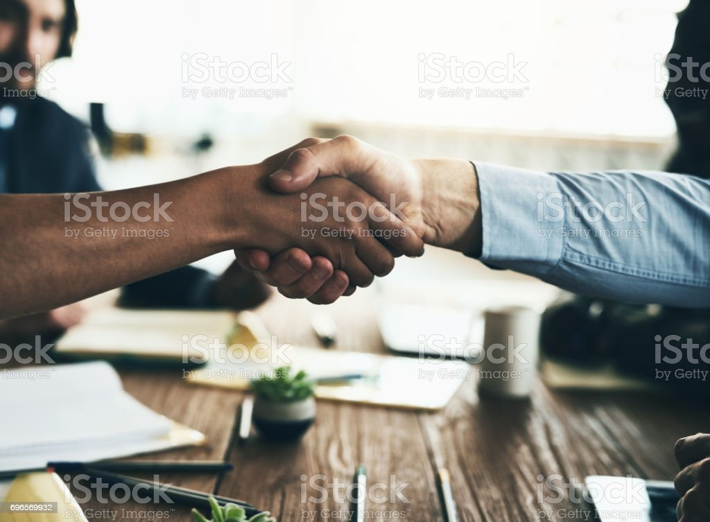 Let's do big things together stock photo