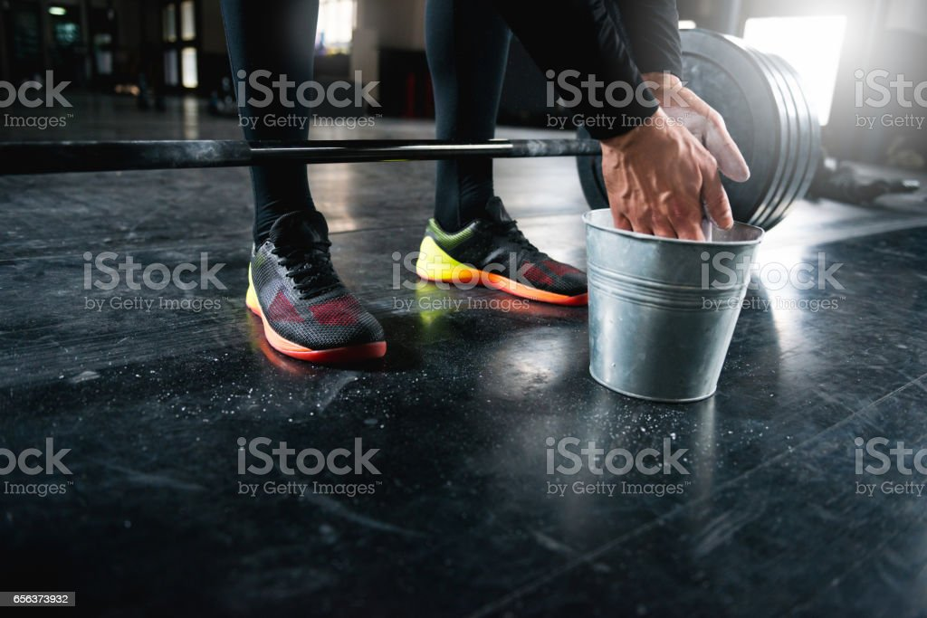 Let's get lifting stock photo