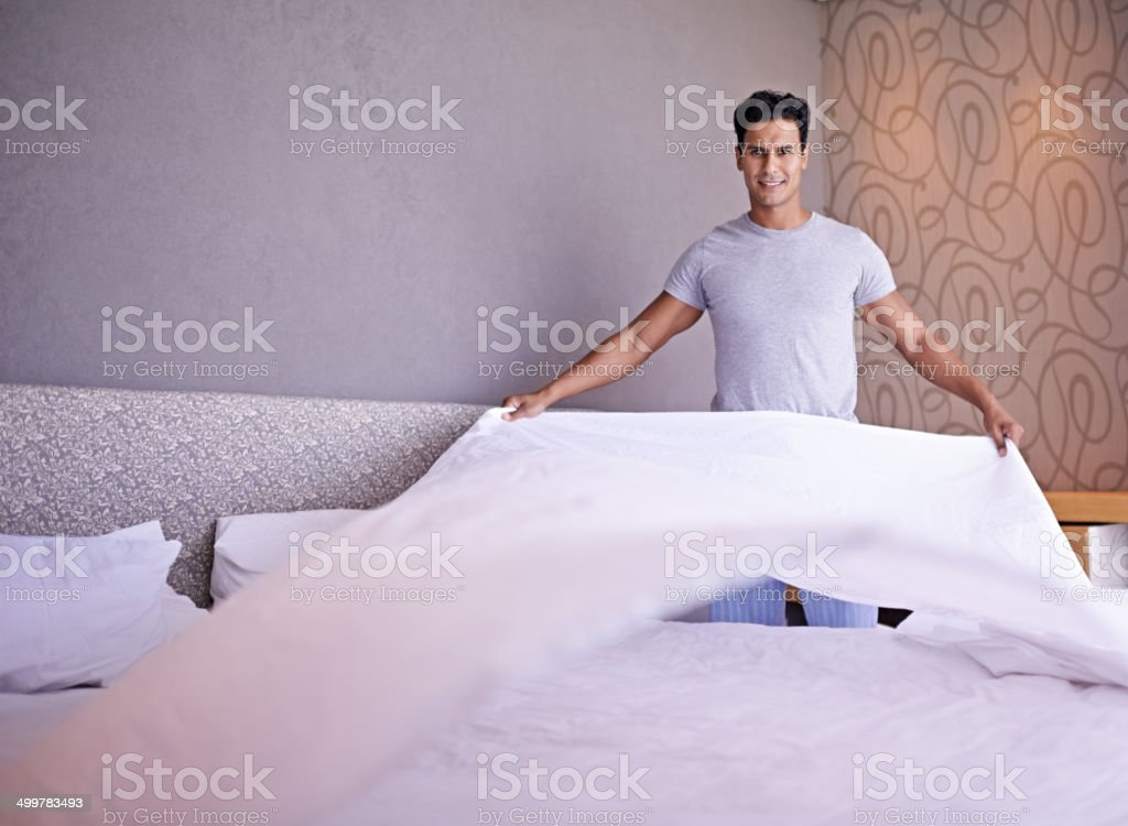 Let's get this day started stock photo