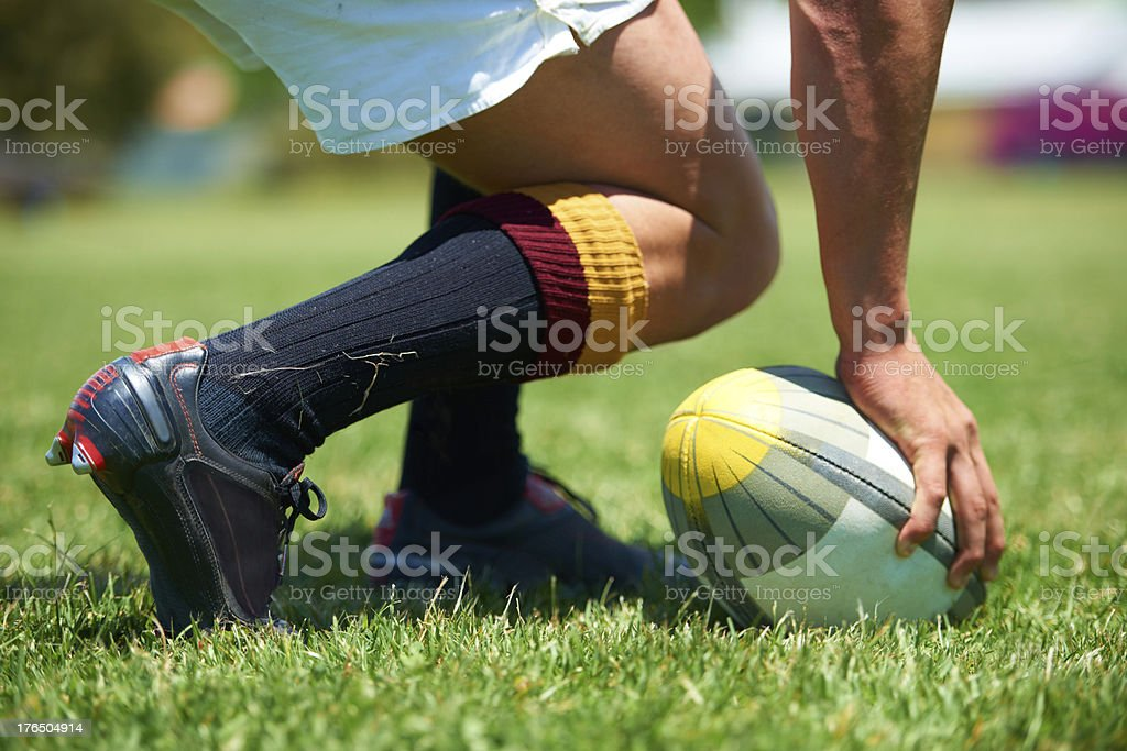 Let's get this game started! stock photo