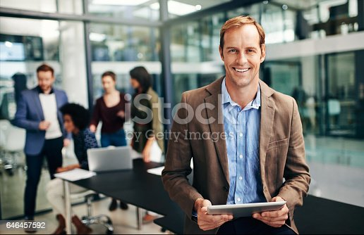 istock Let's get this meeting started 646457592