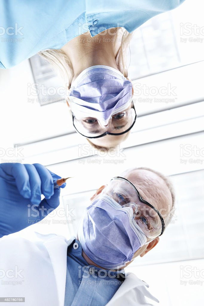 Let's get those teeth fixed! royalty-free stock photo